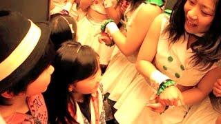 【激撮】白熱のステージにご満悦の福くん&夢ちゃん choco☆milQ オフィ...
