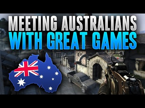 Meeting Australians with Great Games