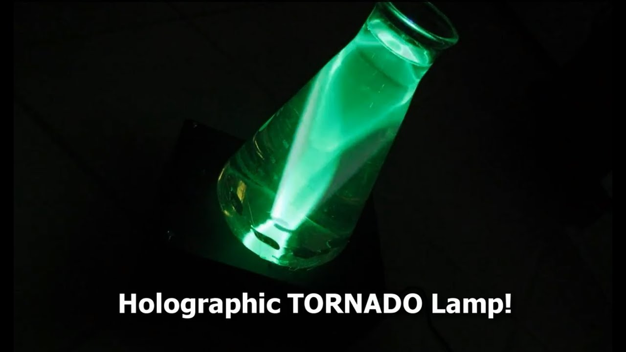 Laser Tornado Lamp The Lava Lamp Of The Future Youtube