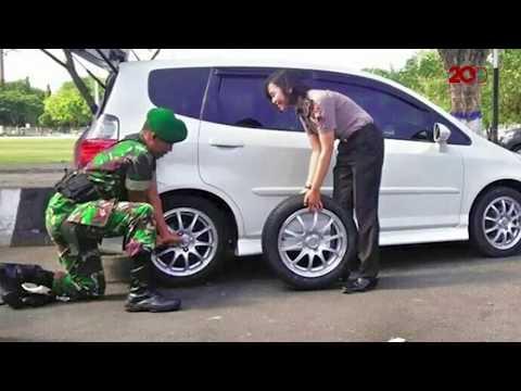 Bak FTV, TNI Dan Polwan Ini Terkena 'Ranjau Cinta'