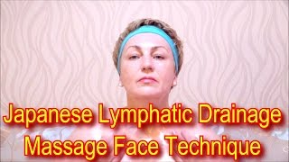 Video Japanese Massage Face Technique Zogan - Lymphatic Drainage Massage Facial Yukuko Tanaka download MP3, 3GP, MP4, WEBM, AVI, FLV Maret 2017