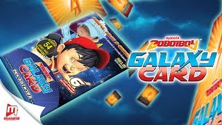 BoBoiBoy Galaxy Card - Pek BoBoiBoy Api & Air (unpacking)