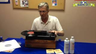 Sleeve City introduces the Nitty Gritty Record Cleaning Machines