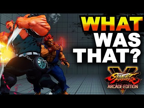 SFV AE * Dirty AF Cross-Up, Ryu Dope Parries & More Highlights