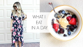 WHAT I EAT IN A DAY | Healthy & Easy Ideas!