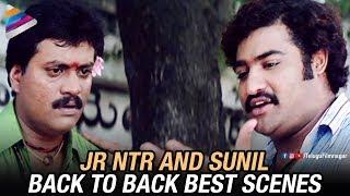 Jr NTR and Sunil Back to Back Best Scenes   Rakhee Telugu Movie   Ileana   DSP   Telugu FilmNagar