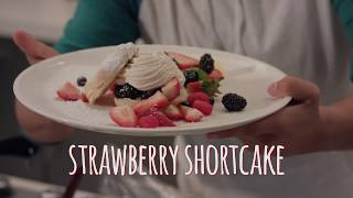 How to make Strawberry Shortcake | Chef Chris Valdes