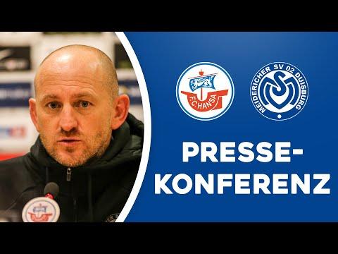 Lieberknecht über das Lebenselixier | PK vor Rostock | #FCHMSV | ZebraTV | 17.09.2020