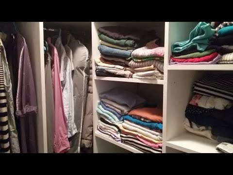маленькая гардеробная 2 с фото из кладовки
