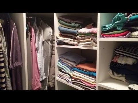 гардеробная комната видео из кладовки