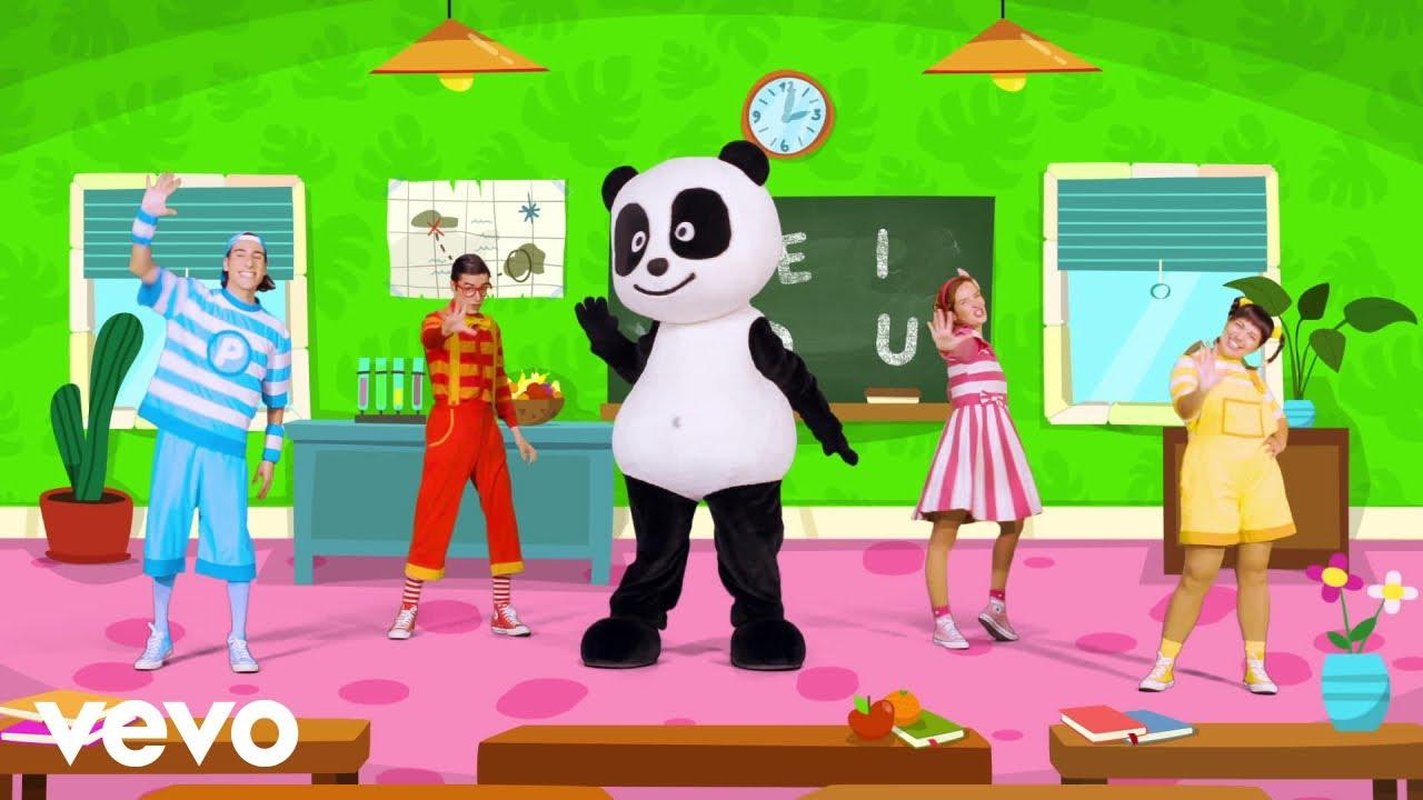 Panda e Os Caricas - 5 Vogais