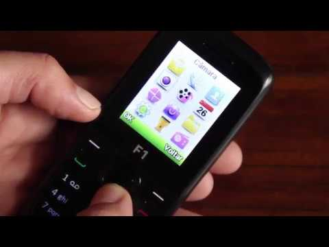 Cell Phone Mobiwire F1 Black