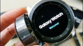 Unboxing New & Latest Samsung Galaxy Smart Watch 46mm! 8 31 18