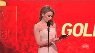 At The Logies Kylie Minogue Presents 2014 Gold Logie  Neighbours 2014
