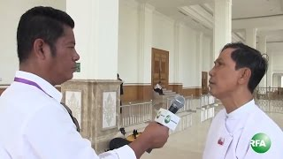 Interview with ANP MP U Ba Shein on Rakhine Affairs