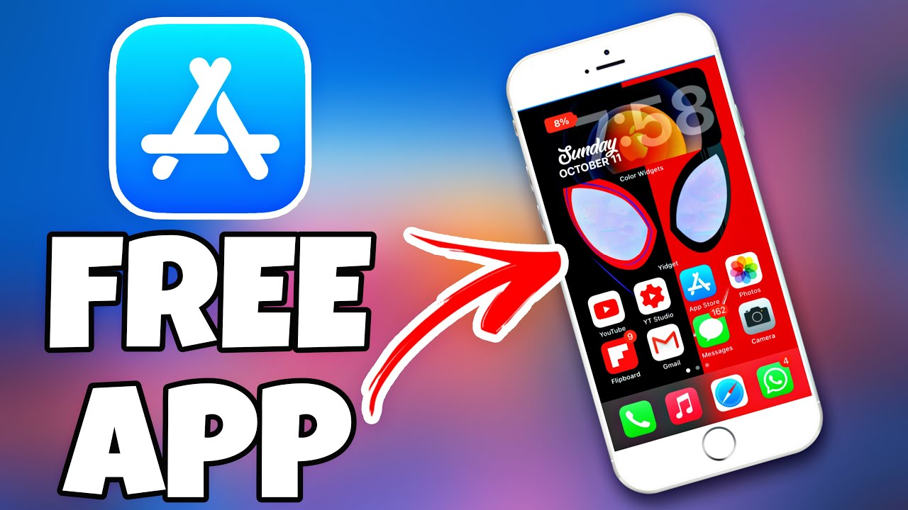 How to Create Blank icons on iOS 21 HomeScreen I iPhone App for How to  customize iOS 21 HomeScreen