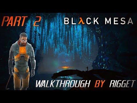"""Black Mesa мир XEN Прохождение Часть 2 """"Подводные щупальца"""""""