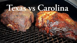 No Wrap Pulled Pork Recipe - Texas vs Carolina Pulled Pork