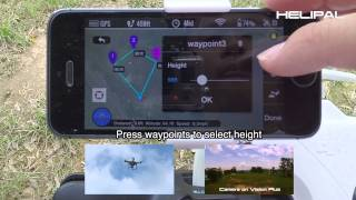How to use the Waypoint Ground Station for DJI Phantom Vision Plus - HeliPal.com