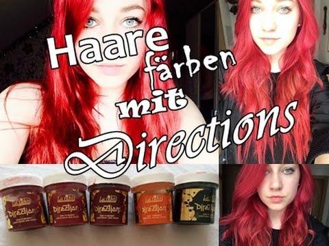 Rote Haare Färben Mit Directions Steffi Uzelino