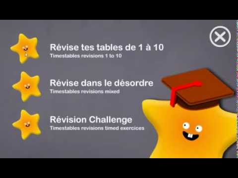 tables de multiplication applications android sur play