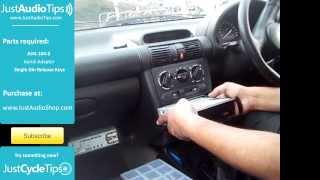 Установка Радіо Vauxhall Corsa Б (1993-2000) | JustAudioTips