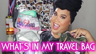 WHAT'S IN MY TRAVEL BAG | PatrickStarrr