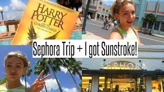 VLOG: Another Sephora Trip + I got Sunstroke?!
