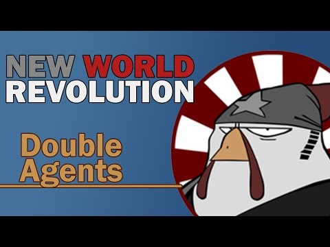 New World Revolution - Double Agents (Lyrics Video)