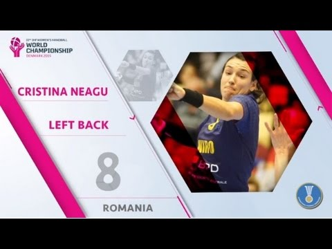 Cristina Neagu - Denmark 2015 MVP & All Star Team Left Back | IHFtv