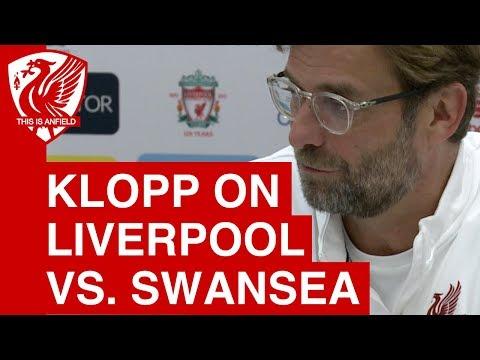 Jurgen Klopp Pre-Match Press Conference | Swansea City vs. Liverpool