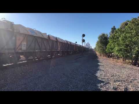 NR47 leading 5455S Mineral Concentrates from Broken Hill to Port Pirie 22-10-2017
