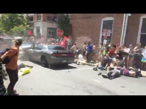 Car Runs Down Crowd in Charlottesville Virginia