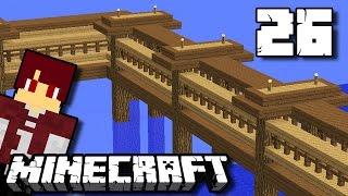 Membuat Jembatan! - Minecraft Survival Indonesia #26