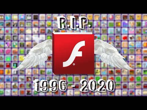 R.I.P. Adobe Flash Player (1996 - 2020)