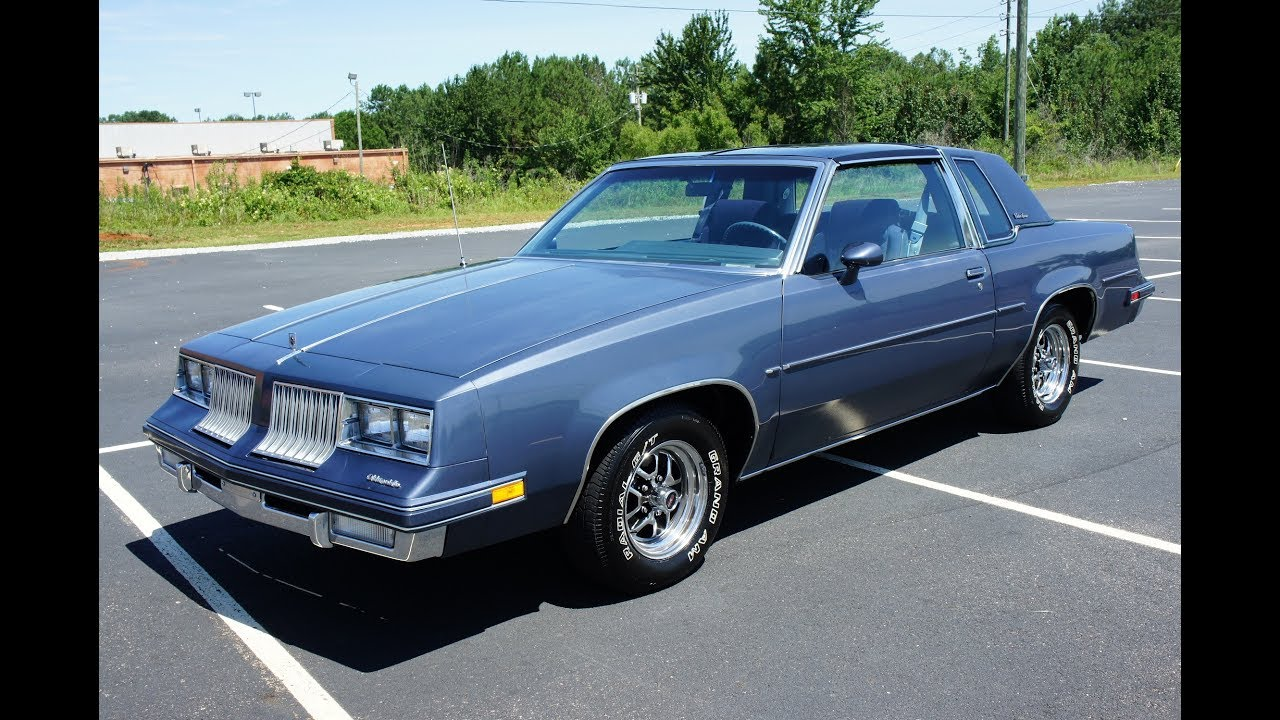1984 OLDSMOBILE CUTLASS SUPREME T-TOP G-BODY FOR SALE