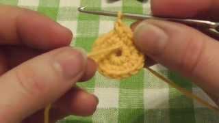 Вязание крючком-Урок 5. Как пометить начало ряда в круговом вязании.