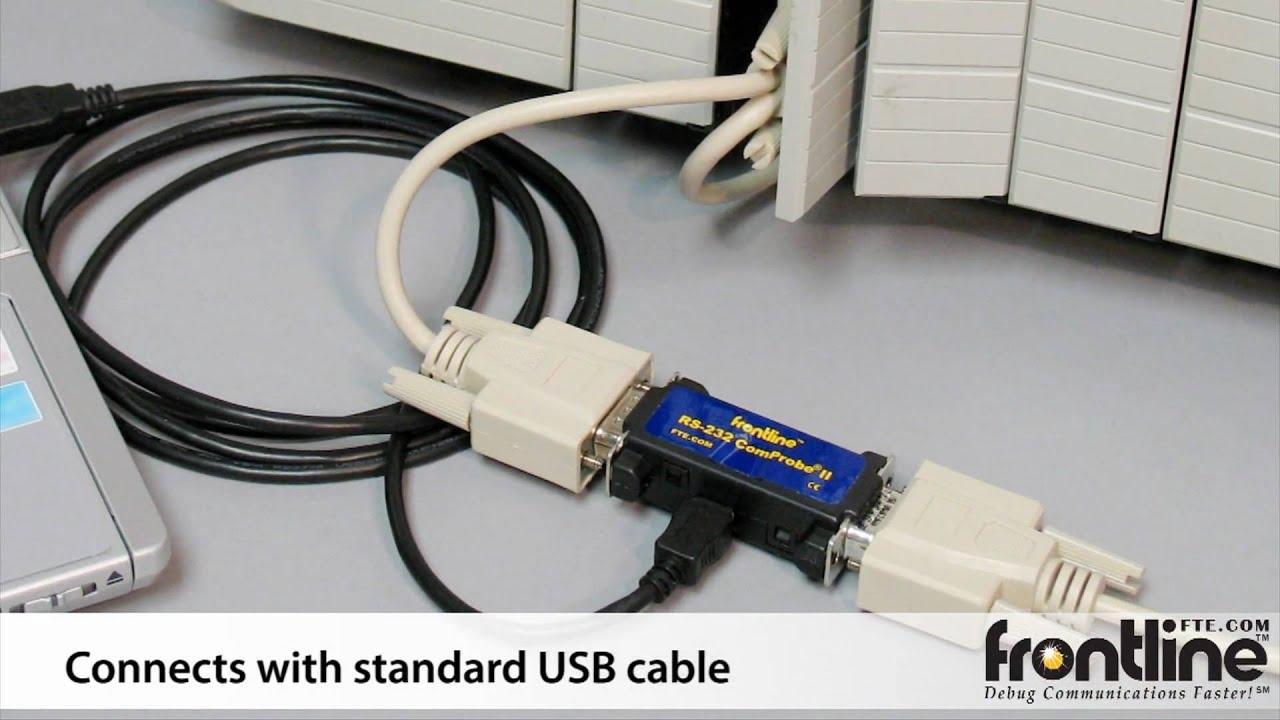 Serialtest: RS-232/RS-422/RS-485 Serial Protocol Analyzer