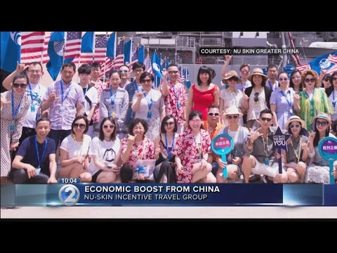 Economic boost for Hawaii from Chinese incentive trip