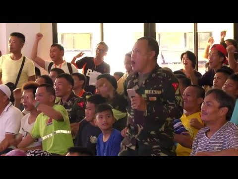 Marawi evacuees cheer for Pacquiao in bout vs Horn