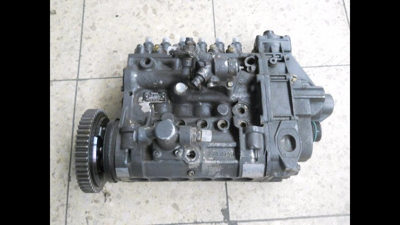 Hyundai H100 Truck Fuel Injection Pump Galloper How To Repair Housing Leakage Without Replace Bosch 1024x768