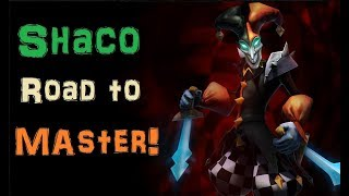 Intense Diamond 2 Shaco Game [League of Legends] Full Gameplay - Infernal Shaco