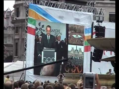 Announcement Of Olympic Games For London 2012