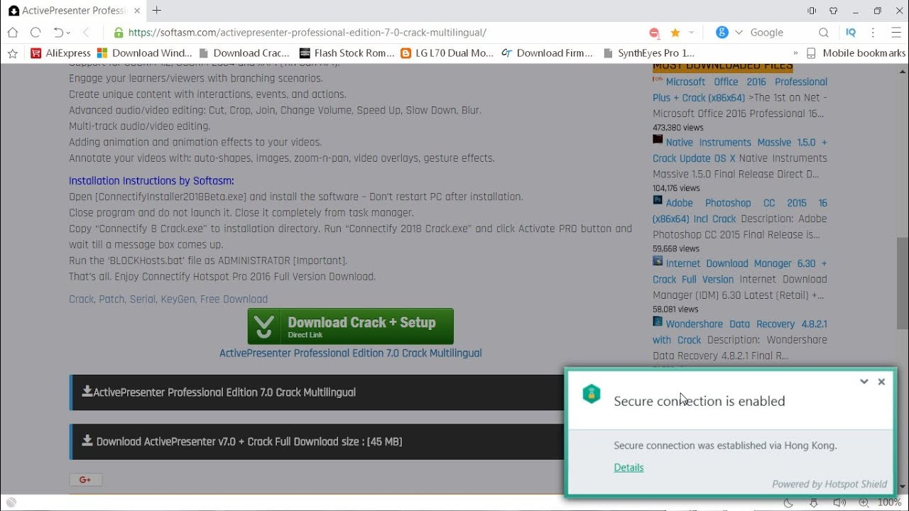 download activepresenter full crack