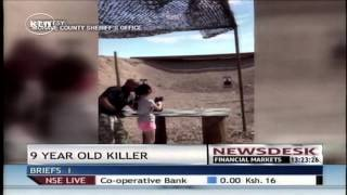 Nine-year-old girl accidentally shoots and kills her instructor