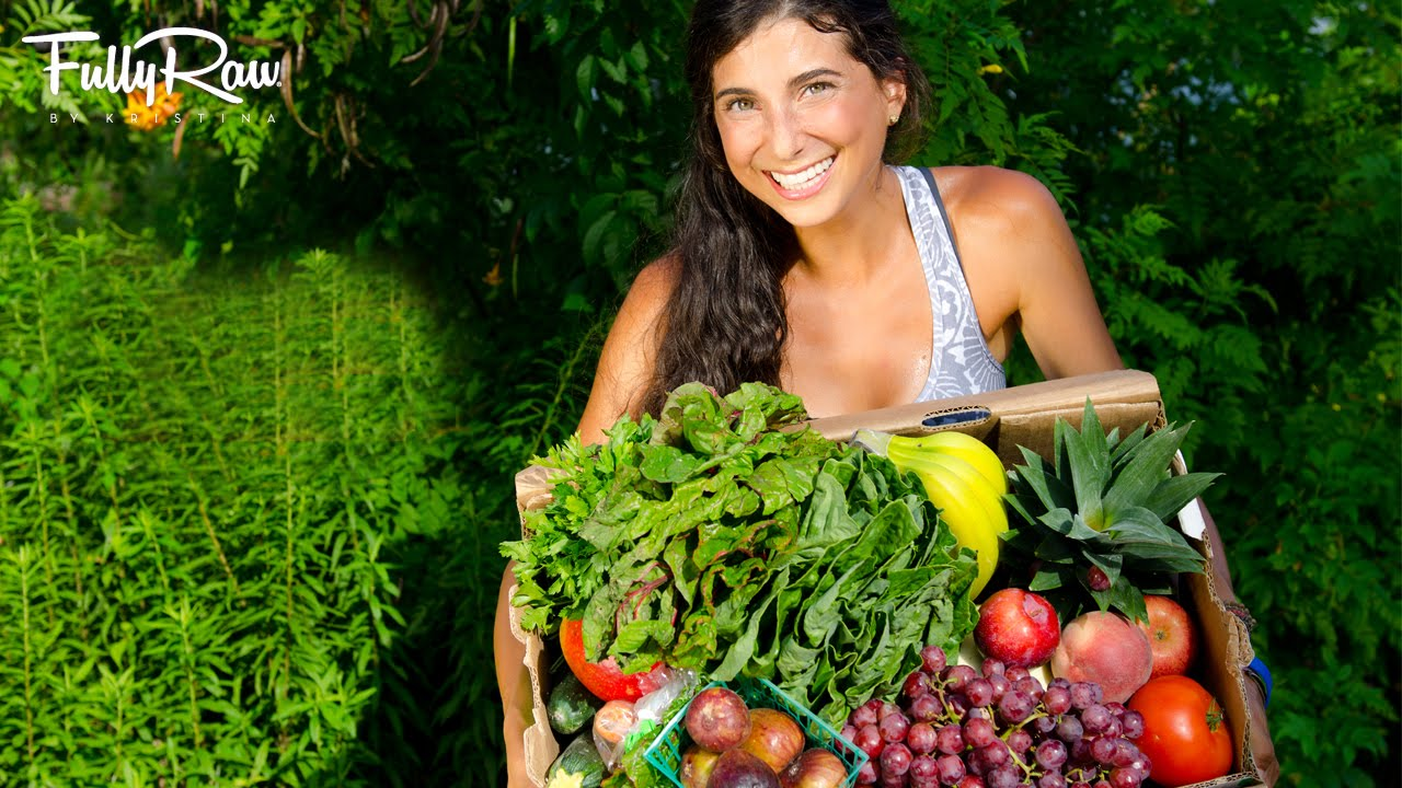 youtube raw food vegan diet