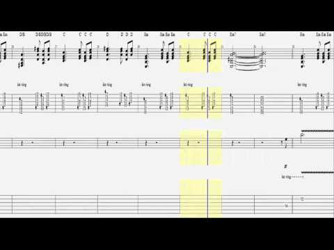 Tenacious D - Dude / Guitar Tab and Solo HD