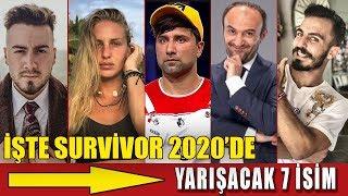 Survivor 2020 Agreed Competitors