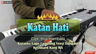 Katan Hati - Lagu Lampung Cipt. Hila Hambala Versi Cover - Musik Keyboard Korg Microarranger
