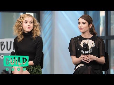 "Emma Roberts, Osgood Perkins, Kiernan Shipka & Lucy Boynton Discuss ""The Blackcoat's Daughter"""